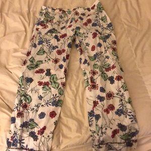 floral pajama pant GAP